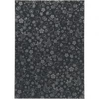 Paper, A4, 210x297 mm, 80 g, black, 20 sheet/ 1 pack