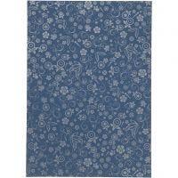 Paper, A4, 210x297 mm, 80 g, blue, 20 sheet/ 1 pack