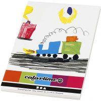 Drawing Paper Pad, A4, 210x297 mm, 120 g, white, 50 sheet/ 1 pc