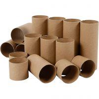 Cardboard tube, L: 4,7+9,3+14 cm, 60 pc/ 1 pack