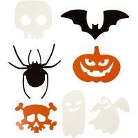 Halloween Motifs, size 5-10 cm, 180 g, 50 pc/ 1 pack