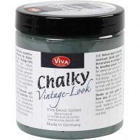 Chalky vintage look, dark green (702), 250 ml/ 1 tub
