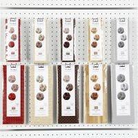 Click Ornaments, D: 5+9 cm, 10x10 pack/ 1 pack