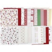 Design Paper pad, 30,5x30,5 cm, 120+128 g, 24 sheet/ 1 pack