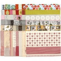 Decoupage Paper, 25x35 cm, Content may vary , 17 g, 360 ass sheets/ 1 pack