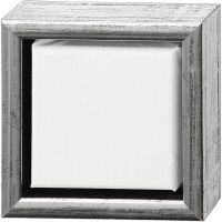 ArtistLine Canvas with frame, depth 3 cm, size 14x14 cm, 360 g, white, 6 pc/ 1 pack