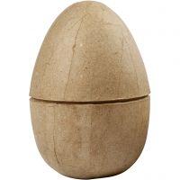Two-piece Egg, H: 12 cm, D: 9 cm, 1 pc