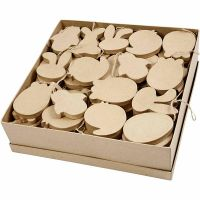 Easter Ornaments, H: 10 cm, thickness 12 mm, 114 pc/ 1 pack
