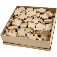 Fish, H: 8 cm, thickness 12 mm, 162 pc/ 1 pack