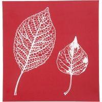 Screen Stencils, leaves, 20x22 cm, 1 sheet