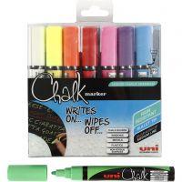 Chalk Pen, line 1,8-2,5 mm, 8 pc/ 1 pack