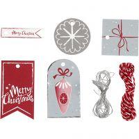 Gift labels, 250 g, 1 set