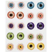 3D Eyes, D: 20 mm, 1 sheet