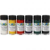 Magic Marble , standard colours, 6x20 ml/ 1 pack