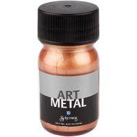 Hobbymaling metallic, copper, 30 ml/ 1 bottle