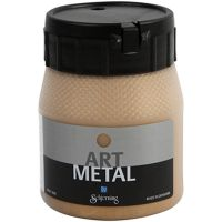 Hobbymaling metallic, medium gold, 250 ml/ 1 bottle