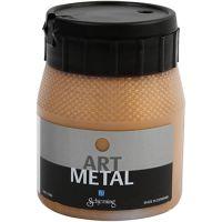 Hobbymaling metallic, dark gold, 250 ml/ 1 bottle