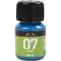 A-Color Glass Paint, turquoise, 30 ml/ 1 bottle