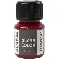 Glass Color Transparent, pink, 30 ml/ 1 bottle