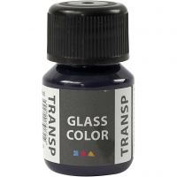 Glass Color Transparent, navy blue, 30 ml/ 1 bottle