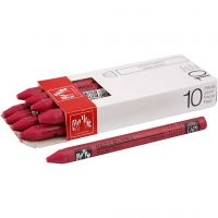 Neocolor I Crayons, L: 10 cm, thickness 8 mm, carmine (080), 10 pc/ 1 pack