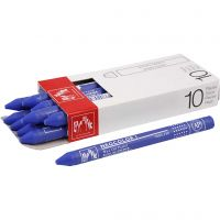 Neocolor I Crayons, L: 10 cm, thickness 8 mm, ultramarine (140), 10 pc/ 1 pack