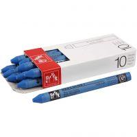 Neocolor I Crayons, L: 10 cm, thickness 8 mm, cobalt blue (160), 10 pc/ 1 pack