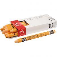 Neocolor II, L: 10 cm, orange (030), 10 pc/ 1 pack