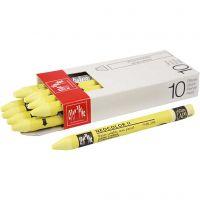 Neocolor II, L: 10 cm, lemon yellow (240), 10 pc/ 1 pack