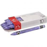 Neocolor II, L: 10 cm, periwinkle blue (131), 10 pc/ 1 pack