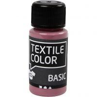 Textile Color Paint, dark rose, 50 ml/ 1 bottle