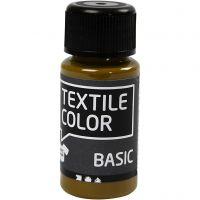 Textile Color Paint, olive-brown, 50 ml/ 1 bottle