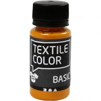 Textile Color Paint, mustard, 50 ml/ 1 bottle