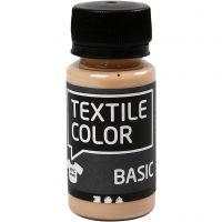 Textile Color Paint, light beige, 50 ml/ 1 bottle