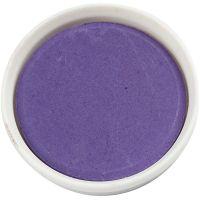 Watercolour, D: 30 mm, violet, 12 pc/ 1 pack