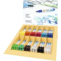 SOLO GOYA Aqua Paint Marker, assorted colours, 12x6 pc/ 1 pack