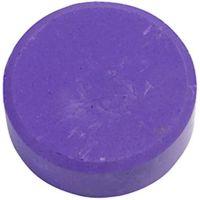 Watercolour, H: 19 mm, D: 57 mm, purple, 6 pc/ 1 pack