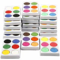 Watercolour, H: 16 mm, D: 44 mm, 18 trays/ 1 pack