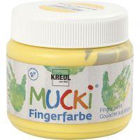 Finger Paint, yellow, 150 ml/ 1 tub