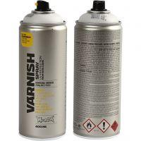 Spray Lacquer, matt, 400 ml/ 1 tub