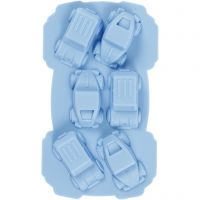 Silicone mould, cars, hole size 30x45 mm, 12,5 ml, 1 pc