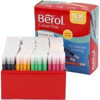 Berol Colourfine, line 0,3-0,7 mm, assorted colours, 288 pc/ 1 pack