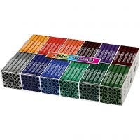 Colortime Marker, line 5 mm, additional colours, 12x24 pc/ 1 pack