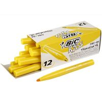 Visa Color Marker, line 3 mm, yellow, 12 pc/ 1 pack