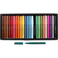 Visa Color Marker, line 3 mm, assorted colours, 24 pc/ 1 pack