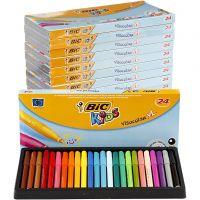 Visa Color Marker, line 3 mm, assorted colours, 12x24 pc/ 1 pack