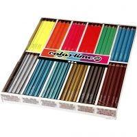 Colortime colouring pencils, L: 17,45 cm, lead 4 mm, 144 pc/ 1 pack