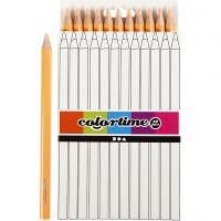 Colortime colouring pencils, L: 17,45 cm, lead 5 mm, JUMBO, light beige, 12 pc/ 1 pack