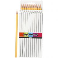 Colortime colouring pencils, L: 17 cm, lead 3 mm, light beige, 12 pc/ 1 pack