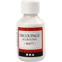 Decoupage Varnish, matt, 100 ml/ 1 bottle